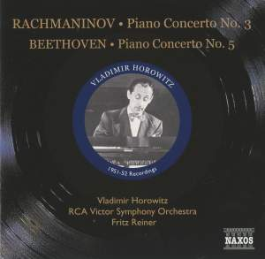 Beethoven: Piano Concerto No. 5 & Rachmaninov: Piano Concerto No. 3 Product Image