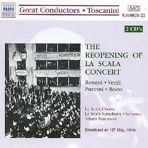 Toscanini: Reopening of La Scala Concert