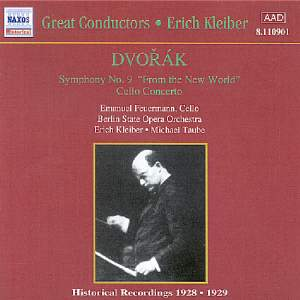 Dvorak: Symphony No. 9 & Cello Concerto