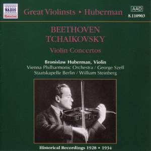 Great Violinists - Huberman