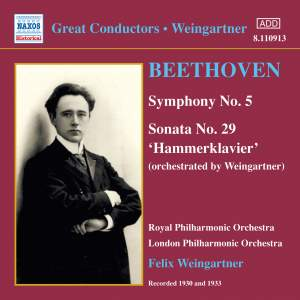 Great Conductors - Weingartner Product Image