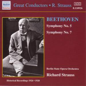 Great Conductors - Richard Strauss Product Image