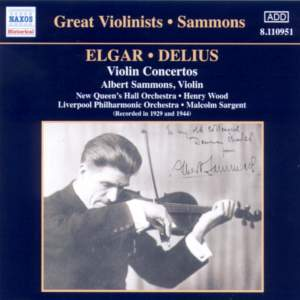 Great Violinists - Sammons