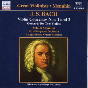 Yehudi Menuhin plays Bach