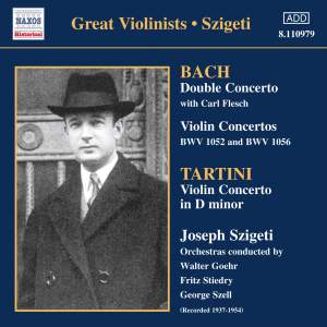 Great Violinists - Szigeti Product Image