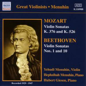 Great Violinists - Menuhin Product Image