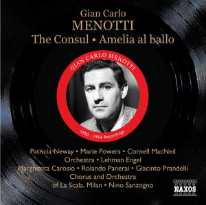 Menotti - The Consul & Amelia al ballo Product Image