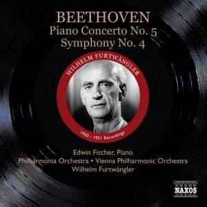 Beethoven - Piano Concerto No. 5 & Symphony No. 4 Product Image