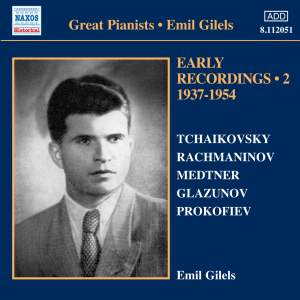 Emil Gilels: Early Recordings Volume 2 Product Image
