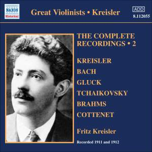 Kreisler: The Complete Recordings Volume 2