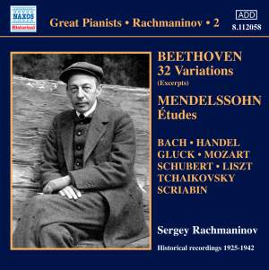 Rachmaninov - Solo Piano Recordings Volume 2 Product Image