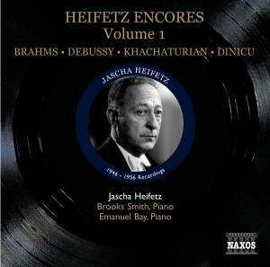 Heifetz Encores Volume 1