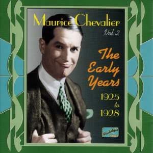 Maurice Chevalier - The Early Years (1925-1928)