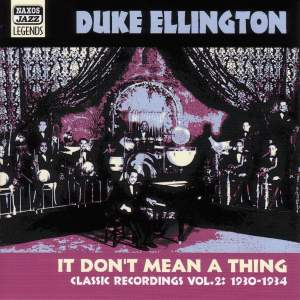 Duke Ellington - It Don't Mean a Thing (1930-1934) Product Image