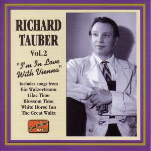 Richard Tauber - I'm in Love with Vienna (1926-1941) Product Image