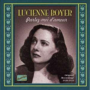 Lucienne Boyer - Parlez-moi d'amour (1926-1933) Product Image