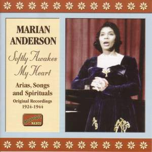 Marian Anderson - Softly Awakes My Heart (1924-1944)