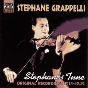 Stephane Grappelli - Stephane's Tune (1938-1942) Product Image