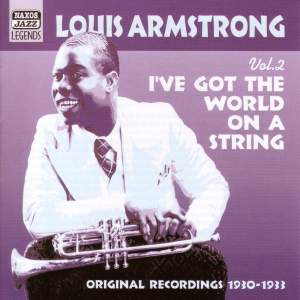 Louis Armstrong - I've Got The World On A String (1930-1933) Product Image