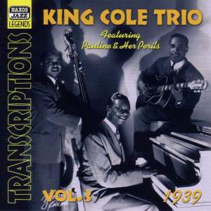 Nat Cole Trio - Transcriptions, Vol. 3 (1939) Product Image
