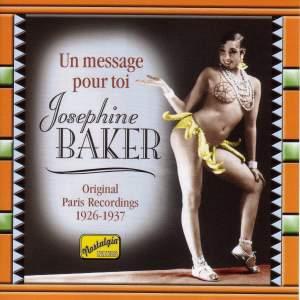 Josephine Baker - Un Message Pour Toi (1926-1937)