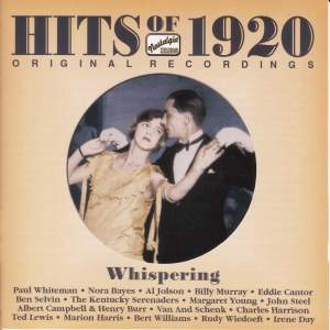 Hits of the 1920's, Vol. 1: Whispering Product Image