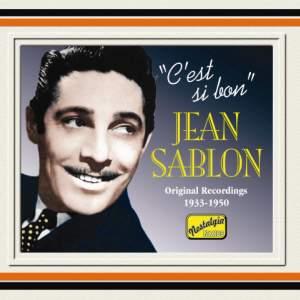 Jean Sablon - C'est si bon' (1934-1950)