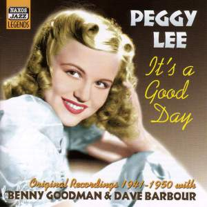 Peggy Lee - It's a Good Day (1941-1950) Product Image
