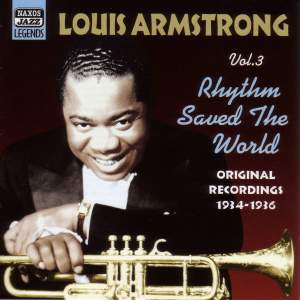 Louis Armstrong - Rhythm Saved The World (1934-1936) Product Image