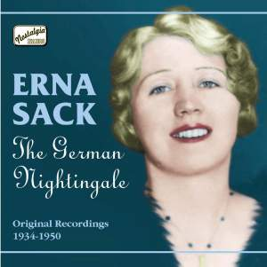 Erna Sack - The German Nightingale (1934-1950) Product Image