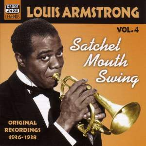 Louis Armstrong Volume 4 - Satchel Mouth Swing Product Image