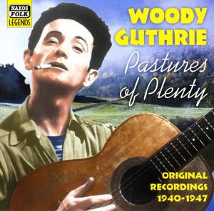 Woody Guthrie - Pastures of Pleasure Product Image