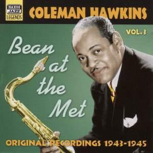 Coleman Hawkins Volume 3 - Bean at the Met Product Image