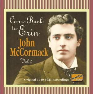 John McCormack - Come Back to Erin (1910-1921) Product Image