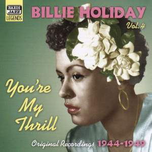 Billie Holiday Volume 4 - You're My Thrill Product Image