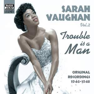 Sarah Vaughan - Trouble is a Man Product Image