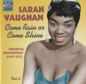 Sarah Vaughan - Come Rain or Come Shine Product Image