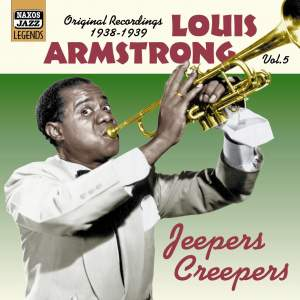 Louis Armstrong Volume 5 - Jeepers Creepers Product Image