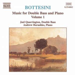 Bottesini - Music for Double Bass and Piano Volume 1 Product Image