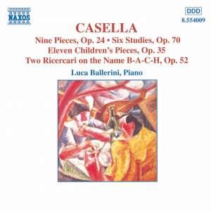 Casella: Piano Music