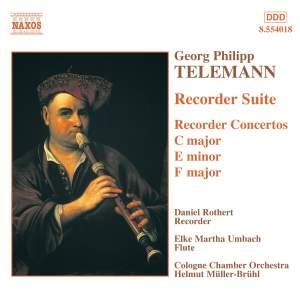 Telemann: Recorder Suite & Concertos