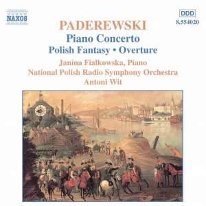 Paderewski: Piano Concerto