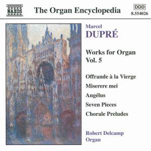 Dupre: Works For Organ, Vol. 5 Product Image