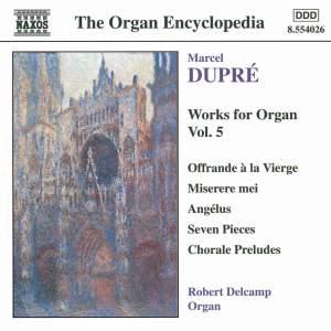 Dupre: Works For Organ, Vol. 5