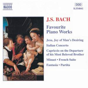 Bach, J.S.: Favourite Piano Works Product Image