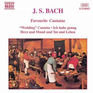 Bach, J S: Cantata BWV202 'Weichet Nur, betrübte Schatten' (Wedding Cantata), etc.