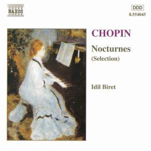 Chopin: Nocturnes (selection) Product Image