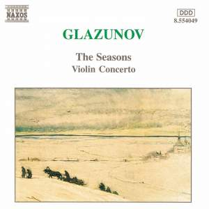 Glazunov: The Seasons & Violin Concerto Product Image