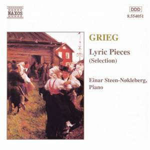 Grieg: Lyric Pieces (selection) Product Image
