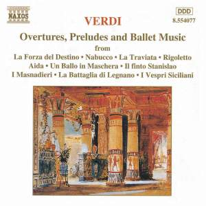 Verdi: Overtures, Preludes And Ballet Music Product Image